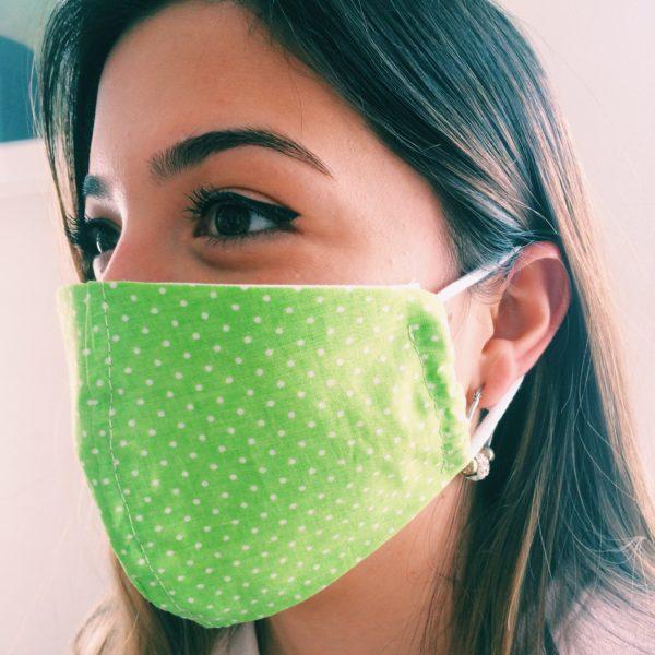 Masque en tissu Puntos