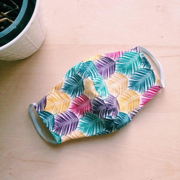 Masque en tissu Tropics